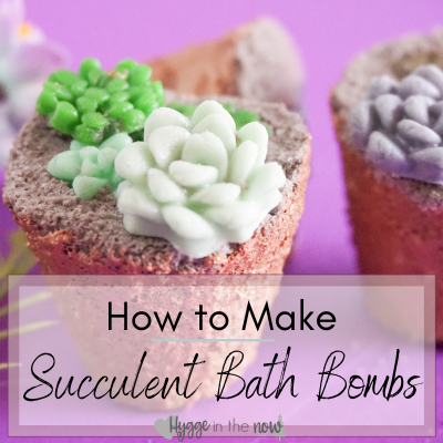 How to Make Your Own Amazing Succulent Bath Bombs