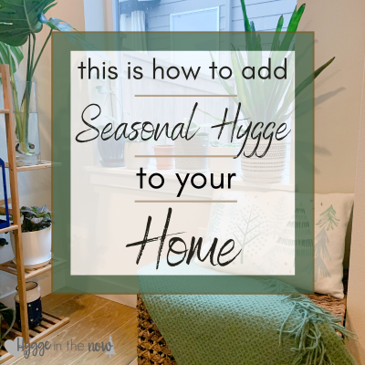 This is How to Add Seasonal Hygge to Your Home