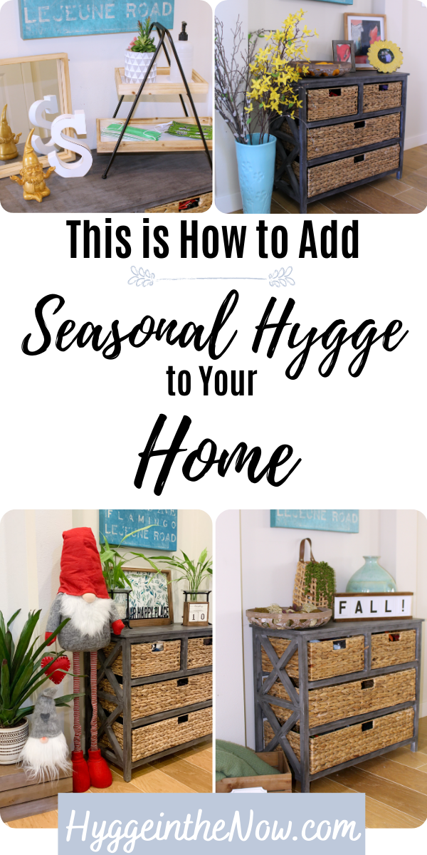seasonal hygge home decor